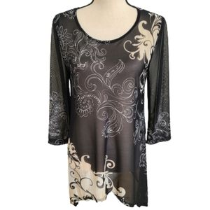 Traveler's Collection by Chico's Tunic Blouse - S